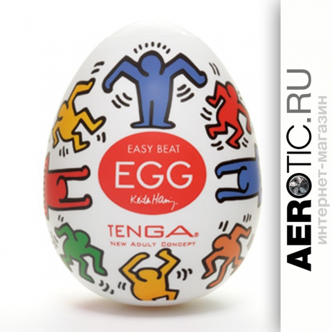 TENGA ✕ Keith Haring EGG DANCE