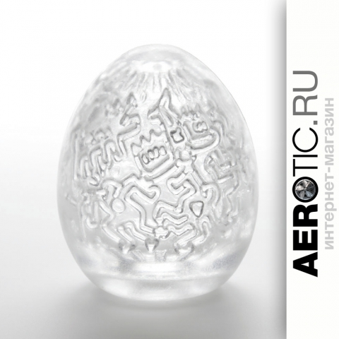 TENGA ✕ Keith Haring EGG PARTY - вид 1 миниатюра