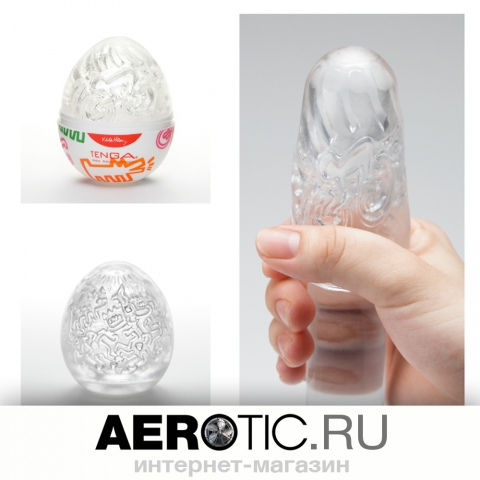 TENGA ✕ Keith Haring EGG PARTY - вид 2 миниатюра